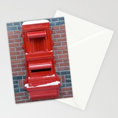 Red Dutch Mailbox Stationery Cards