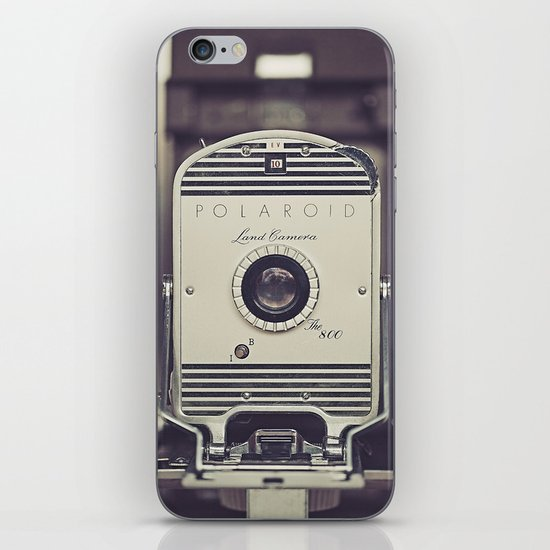 Vintage Polaroid Land Camera The 800 iPhone & iPod Skin