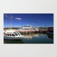 Colourful Jetty Canvas Print