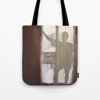 Shadowman Tote Bag