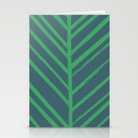 Painted Herringbone - In… Stationery Cards