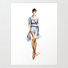 Chloe SS 13 Fashion Illustration Art Print