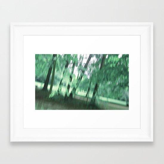 Woods Impression II Framed Art Print