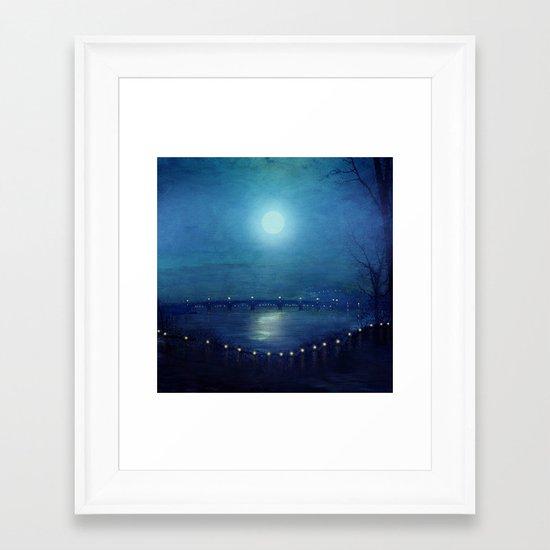 I'll Be Your Moon Framed Art Print