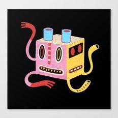 Petit monstre cube  Canvas Print