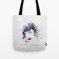 Queen Of Pin-Up Tote Bag
