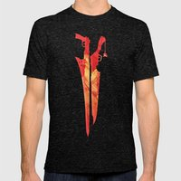 Final Fantasy VIII Mens Fitted Tee Tri-Black SMALL