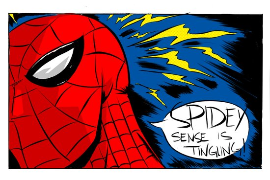 The Spidey Sense Canvas Print
