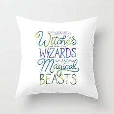 AVPM - Back To Hogwarts Throw Pillow