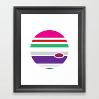 Planet - To Wear Framed Art Print