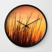 Enjoy the Warmth Wall Clock