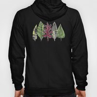 leaves and feathers saffron Hoody