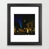 Paris by Night V Framed Art Print