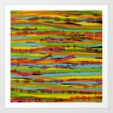 patterns - spaghettis 1 Art Print