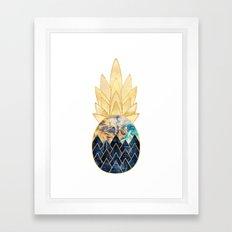 Precious Pineapple 1 Framed Art Print