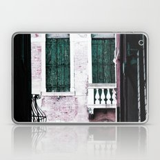 Green Shutters Laptop & iPad Skin