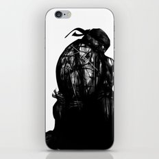 leonardo black and white iPhone & iPod Skin