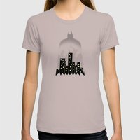 There, In The Shadows!  Womens Fitted Tee Cinder SMALL