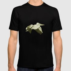 Pellicano Black SMALL Mens Fitted Tee