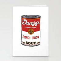 Danzig's Soup Stationery Cards