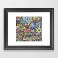 Transmission 1 Framed Art Print