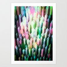 vivid quartz rising Art Print