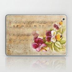 Vintage music #7 Laptop & iPad Skin