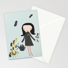 Nature must be nurtured Stationery Cards