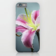 Pink Lily Slim Case iPhone 6s