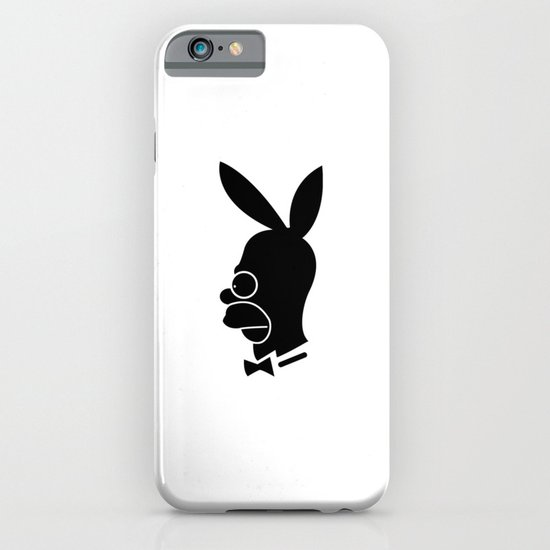 Playboy homer iPhone & iPod Case