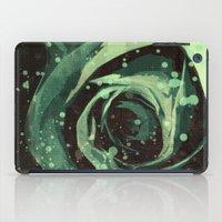 Turquoise Roses 1 iPad Case