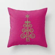 Throw Pillow featuring Christmas Tree by Mr And Mrs Quirynen