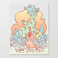 nom nom Canvas Print