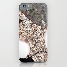 butterfly woman iPhone 6 Slim Case