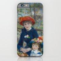Pierre-Auguste Renoir - Two Sisters iPhone 6 Slim Case