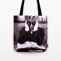 The Invisible Man Tote Bag