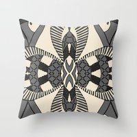 Ubiquitous Bird Collection14 Throw Pillow