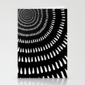 Fjorn black Stationery Cards