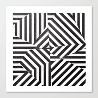 Dazzle 03. Canvas Print