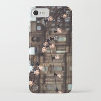 lights iPhone & iPod Cases featuring Lights by Errne