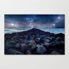 Rocky Road to Eternity Canvas Print