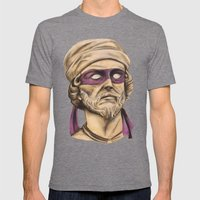 Donnie TMNT Mens Fitted Tee Tri-Grey SMALL