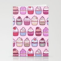 Cupcakes Galore Stationery Cards