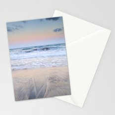 Pink waves ..... Stationery Cards