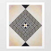 Heart of GO(L)D Art Print