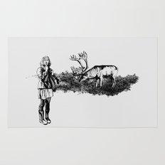 caribou Rug