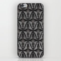 Checkers Black and White iPhone & iPod Skin