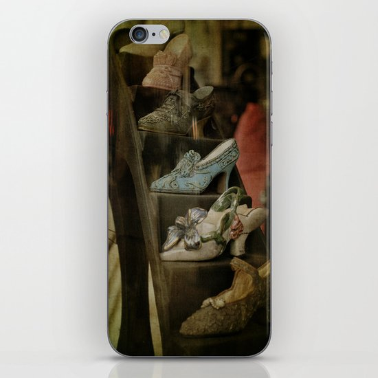 Old Time Shoes iPhone & iPod Skin