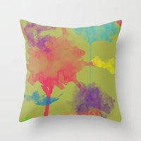 Multi-World Throw Pillow