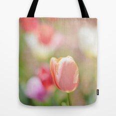 Tulips in the Garden Tote Bag